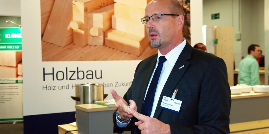 Steht für den dynamischen Holzbereich der Eurobaustoff: Michael Thürmer.