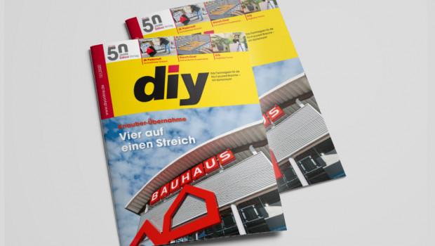 Die Dezember-Ausgabe des Fachmagazins diy ist erschienen.