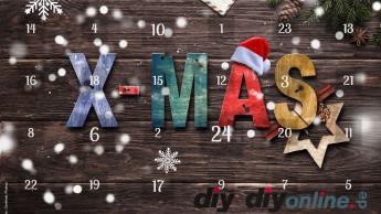 Weihnachten steht auf diyonline vor der Adventskalendertür