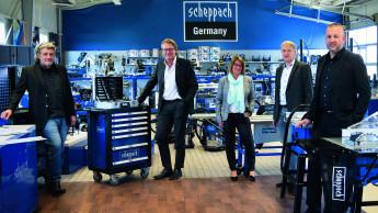 Scheppach meldet Umsatzrekord