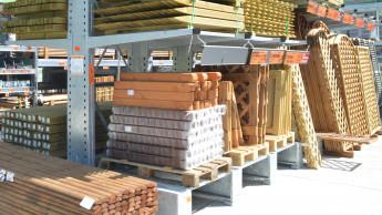Holzhandel steigert 2020 den Umsatz mit Gartenholz um 28 Prozent