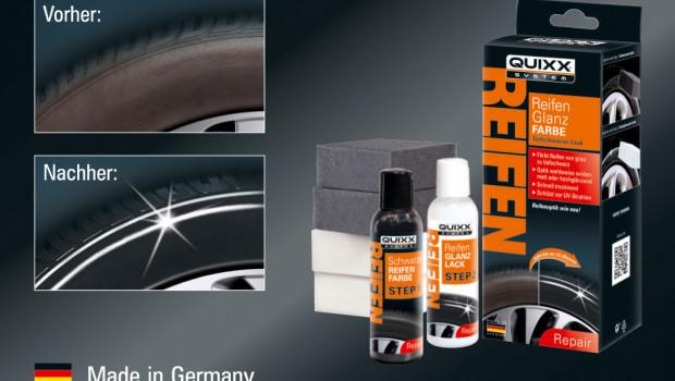 Quixx, Reifenglanz-Farbe, Zwei-Schicht-Polymer-Technologie