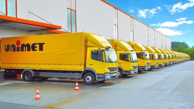 Die Zentrale von Unimet befindet sich in Oyten. Läger unterhält das Großhandelsunternehmen in Burgthann, Hachenburg und Neuruppin.