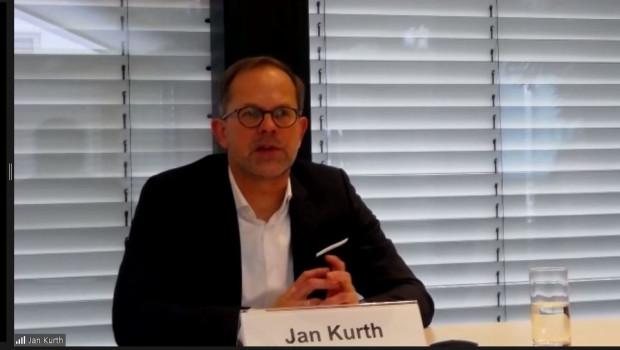 Jan Kurth gab einen Überblick über die Lage auf dem deutschen Möbelmarkt.