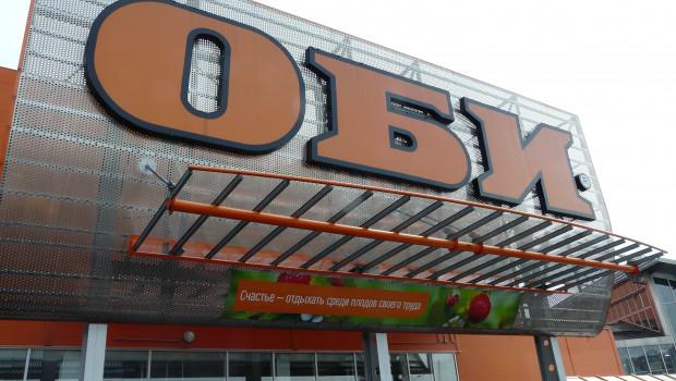 Obi ist in Russland nur noch die Nummer drei.