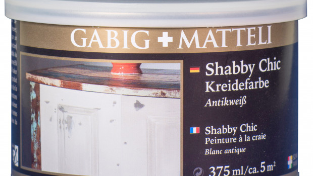 Gäbig+Mätteli, Shabby Chic-Kreidefarbe