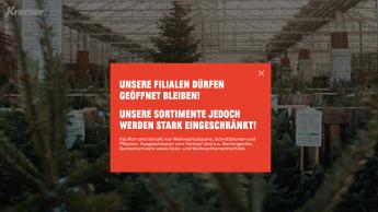 Gartencenter in Nordrhein-Westfalen dürfen eingeschränkt öffnen
