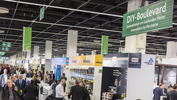 Den DIY-Boulevard wird es auch auf der Internationalen Eisenwarenmesse 2022 wieder geben.