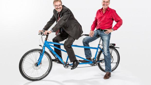 Günter Hiermaier (l.) wurde zum zweiten Geschäftsführer der Unternehmen Liqui Moly und Meguin berufen. Gemeinsam mit Ernst Prost wird er die Geschäfte verantworten.