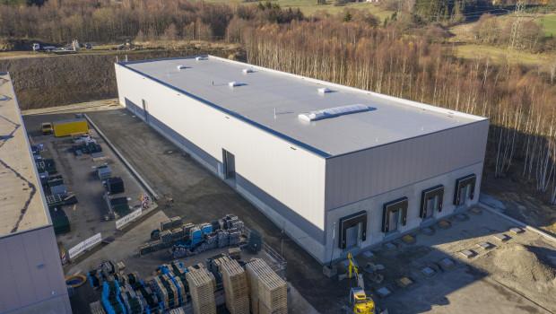GAH-Alberts hat seine Lagerhalle um weitere 2.400 m² erweitert.