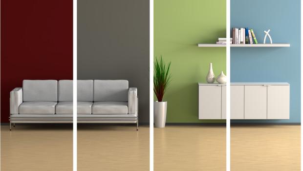 Wand- und Bodenbeläge spielen bei der Wohnraumgestaltung eine entscheidende Rolle - und sind entsprechend wichtig für das Baumarktsortiment. Foto: fischer-cg.de, AdobeStock