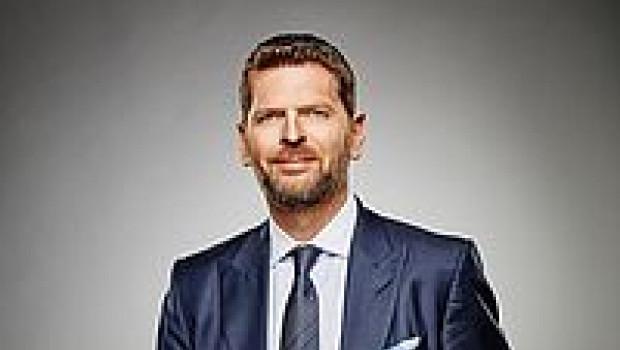 """Hornbach-Marketingvorstand Karsten Kühn spricht auf der IFH/ECC-Veranstaltung """"Faszination Handel""""."""