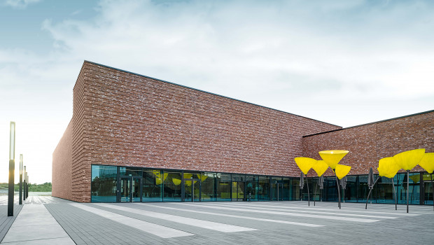 Am Stammsitz in Winnenden hat Kärcher 2016 ein neues Kunden- und Besucherzentrum eröffnet.