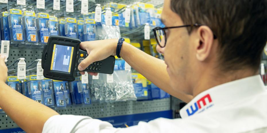 Regalpflege und Bausteinkontrolle waren und sind weiterhin typischeAufgaben, die der Dienstleister für Lieferanten aus ganz Europa in denBaumärkten vornimmt.