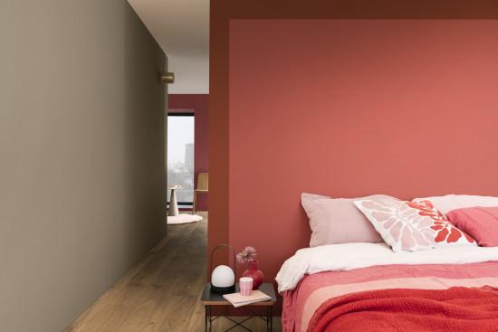Rosa- und Rottöne sorgen den Farbspezialisten zufolge für Mut und Selbstvertrauen.