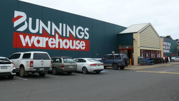 Bunnings ist Marktführer in Australien.