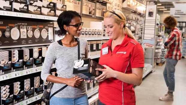 """Aus einer Online-Befragung von mehr als 116.000 Verbrauchern ging Toom Baumarkt als """"Händler des Jahres"""" in der Kategorie """"Baufachmärkte"""" hervor."""