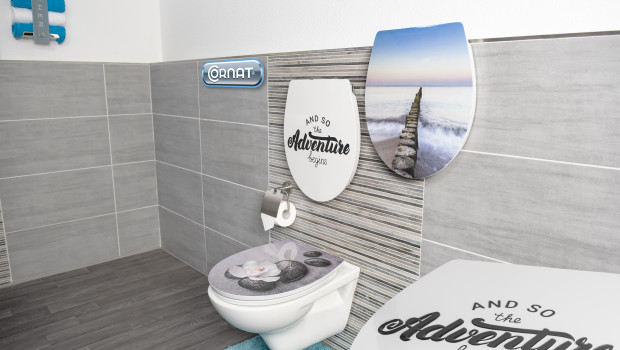 Conmetall Meister, Relief WC-Sitze