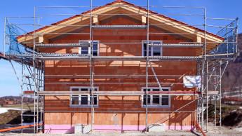 Zahl der Baugenehmigungen für neue Einfamilienhäuser wieder leicht im Plus