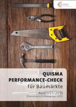"""Der """"Performance-Check Baumärkte"""" von Quisma sieht Nachholbedarf für die Sichtbarkeit der Baumärkte im Netz."""