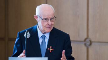 Verdienstkreuz 1. Klasse für Dr. Eugen Trautwein