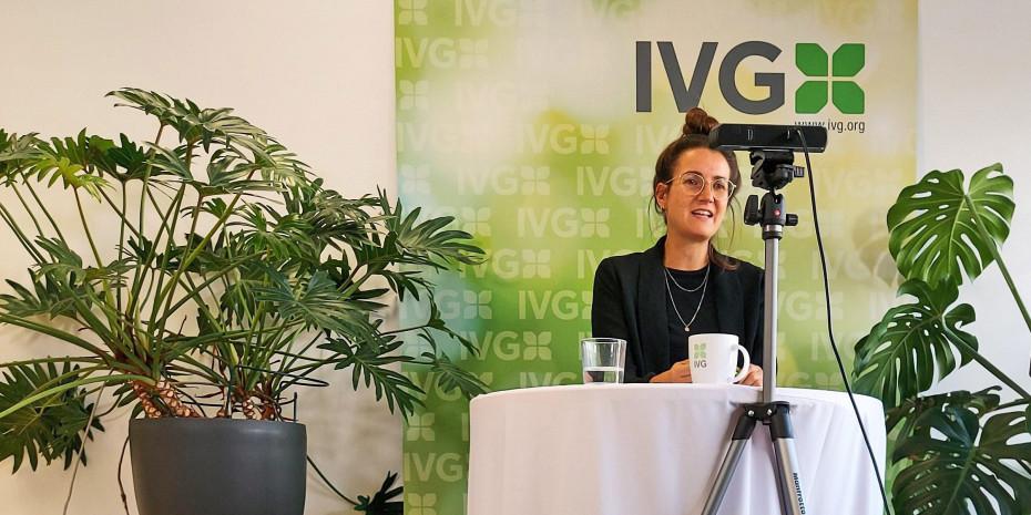 VG-Geschäftsführerin Anna Hackstein