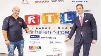 """Markenbotschafter Detlef Steves """"ploppt"""" für guten Zweck"""