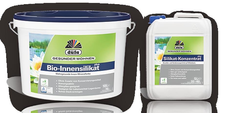 Mit dem Bio-Innensilikat plus und Silikat-Konzentrat plus hat der Anbieter eine Sortimentslücke geschlossen.