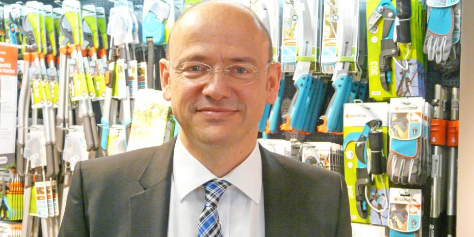 Gardena-Geschäftsführer Tobias M. Koerner