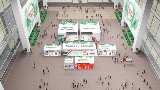 """In einer der virtuellen """"Hallen"""" präsentierten sich auch die Fachabteilungen der Soltauer Kooperation."""