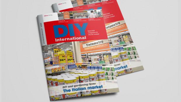 Die aktuelle Ausgabe von DIY International beschäftigt sich ausführlich mit Italien - und natürlich mit den weltweiten Auswirkungen von Covid-19 auf die Baumarktbranche.