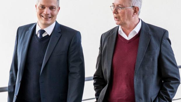Nikolas Bransch (links im Bild) und Klaus Schwager.