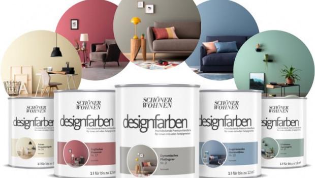 Schöner Wohnen-Farbe, Designfarben