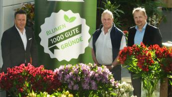 """Veiling Rhein-Maas unterstützt Kampagne """"Blumen – 1000 gute Gründe"""""""