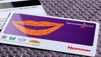 Hammer setzt Partnerschaft mit Deutschlandcard fort
