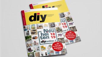 Noch genau vier Wochen: diy sucht die Top-Neuheiten des Jahres