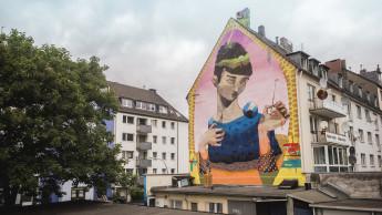 "Farbenhersteller unterstützt Kölner Kunstprojekt ""Human Cities"""